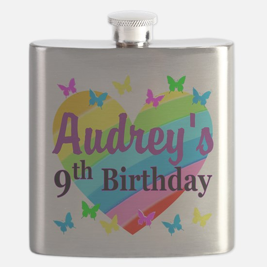 PERSONALIZED 9TH Flask