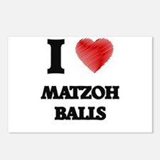I love Matzoh Balls Postcards (Package of 8)