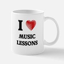 I love Music Lessons Mugs