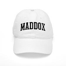 MADDOX (curve) Baseball Cap
