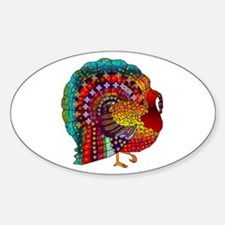 Thanksgiving Jeweled Turkey Decal
