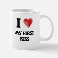 I love My First Kiss Mugs