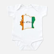 Cool Cote d'Ivoire Infant Bodysuit