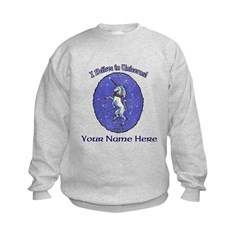 Unicorn Crown Pastel Sweatshirt