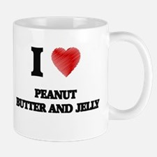 I love Peanut Butter And Jelly Mugs