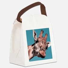 Unique Wildlife Canvas Lunch Bag