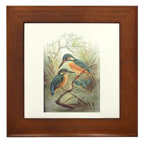Kingfisher Framed Tile