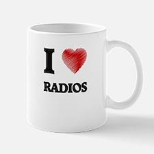 I love Radios Mugs