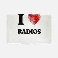 I love Radios Magnets