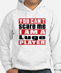 I Am Luge Player Hoodie