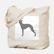 Greyhound Two Gray 1C Tote Bag