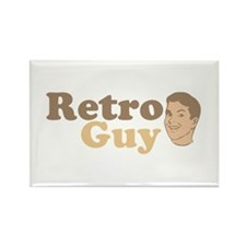 Retro Guy Rectangle Magnet