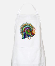 Patchwork Thanksgiving Turkey Apron