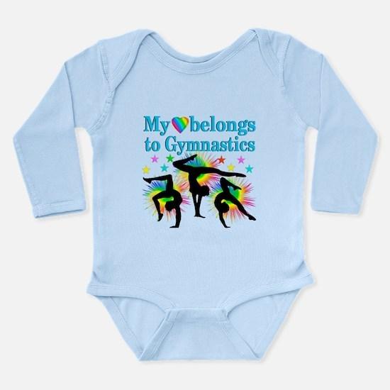 GYMNAST STAR Long Sleeve Infant Bodysuit
