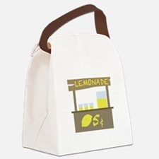 Lemonade Stand Canvas Lunch Bag
