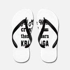 Some Learn Krav Maga Flip Flops