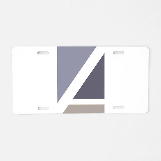 ASPA Logo Aluminum License Plate