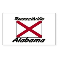 Russellville Alabama Rectangle Decal