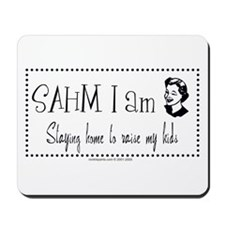sahm i am  Mousepad