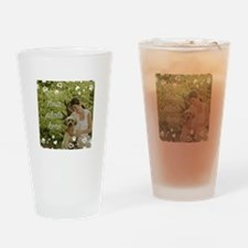 Custom Pet Photo Drinking Glass