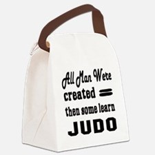 Some Learn Judo Canvas Lunch Bag