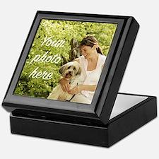 Your Photo Here Keepsake Box