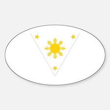 Cute Filipino Sticker (Oval)