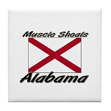 Muscle Shoals Alabama Tile Coaster