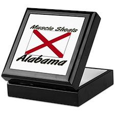 Muscle Shoals Alabama Keepsake Box