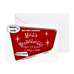 Breastaurant Greeting Cards (Pk of 10)