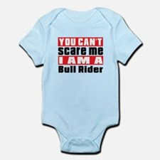 I Am Bull Riding Player Infant Bodysuit