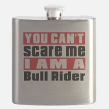 I Am Bull Riding Player Flask