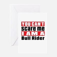 I Am Bull Riding Player Greeting Card