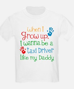 Taxi Driver Like Daddy T-Shirt