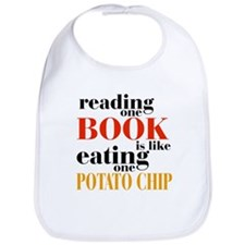 Book & Potato Chip Bib