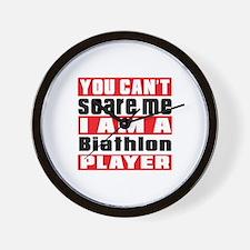 I Am Biathlon Player Wall Clock