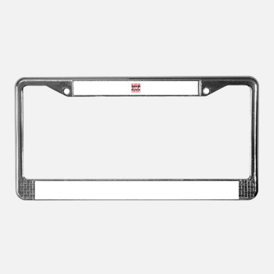 I Am Biathlon Player License Plate Frame