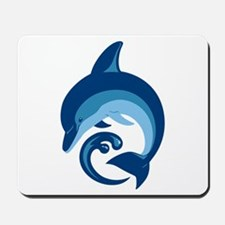 Blue Dolphin Mousepad