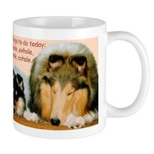 Collie Nap Mugs