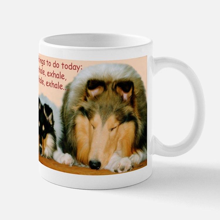 Collie Nap Mugs