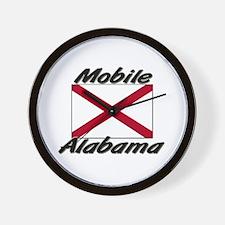 Mobile Alabama Wall Clock