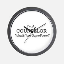 Counselor Wall Clock