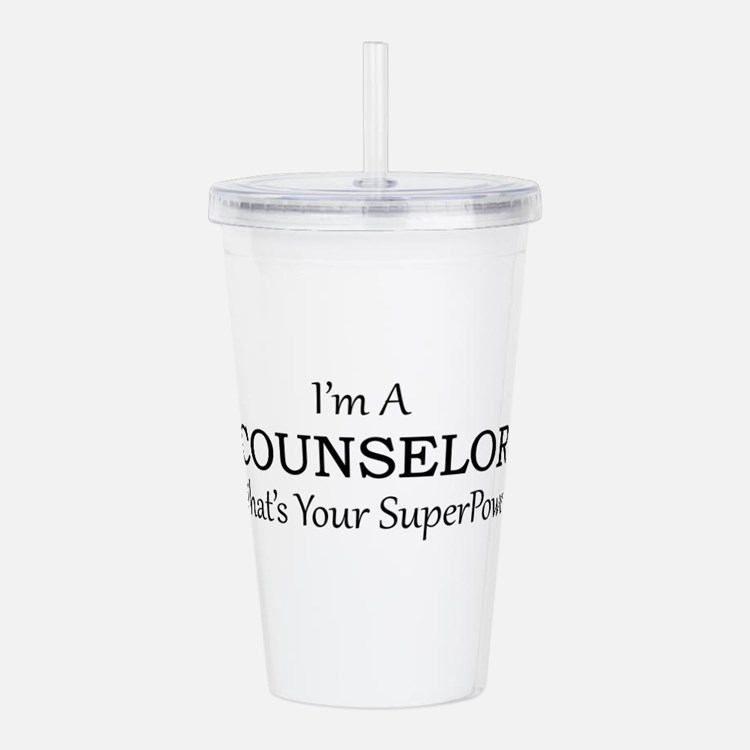 Counselor Acrylic Double-wall Tumbler