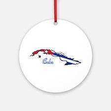Cool Cuba Ornament (Round)