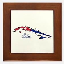 Cool Cuba Framed Tile