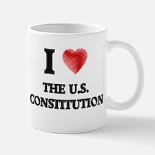 I love The U.S. Constitution Mugs