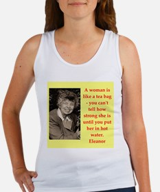 Eleanor Roosevelt quote Tank Top