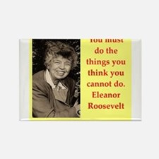 Eleanor Roosevelt quote Magnets