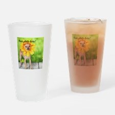 Your Pet Photo Drinking Glass