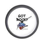 SLYDER ROCKS Wall Clock